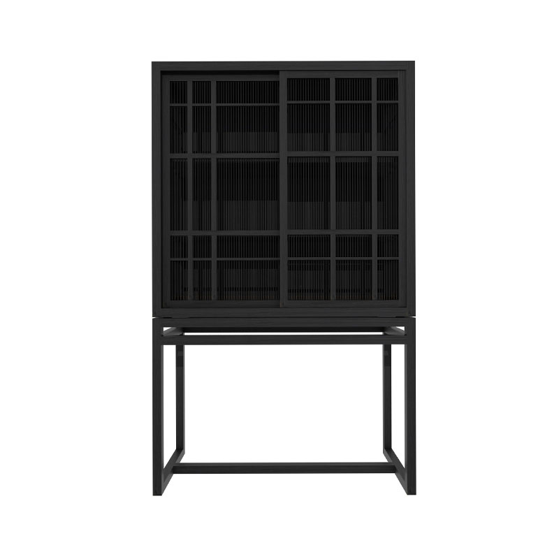 Ethnicraft Burung Storage Cupboard by Carlos Baladia Olson and Baker - Designer & Contemporary Sofas, Furniture - Olson and Baker showcases original designs from authentic, designer brands. Buy contemporary furniture, lighting, storage, sofas & chairs at Olson + Baker.