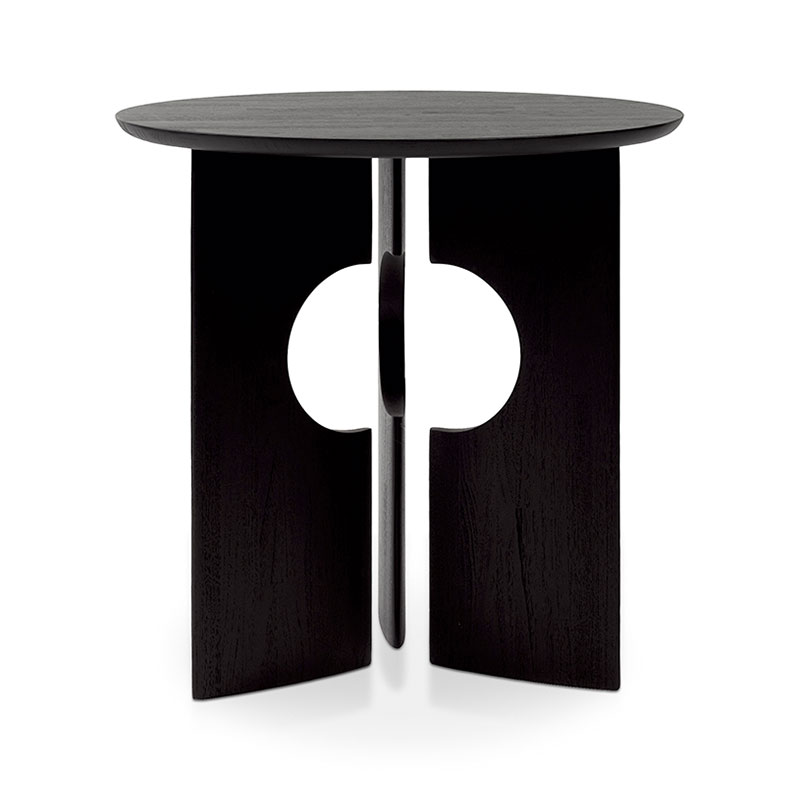Ethnicraft Cove Side Table by Alain Van Havre Olson and Baker - Designer & Contemporary Sofas, Furniture - Olson and Baker showcases original designs from authentic, designer brands. Buy contemporary furniture, lighting, storage, sofas & chairs at Olson + Baker.
