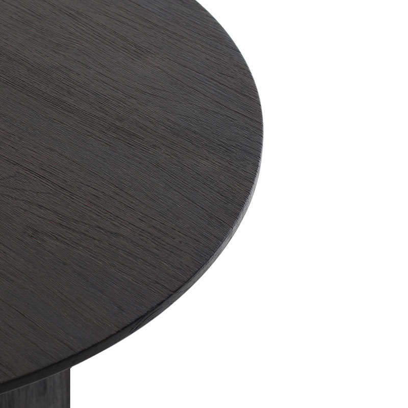 Ethnicraft_Cove_Side_Table_by_Alain_Van_Havre_3 Olson and Baker - Designer & Contemporary Sofas, Furniture - Olson and Baker showcases original designs from authentic, designer brands. Buy contemporary furniture, lighting, storage, sofas & chairs at Olson + Baker.