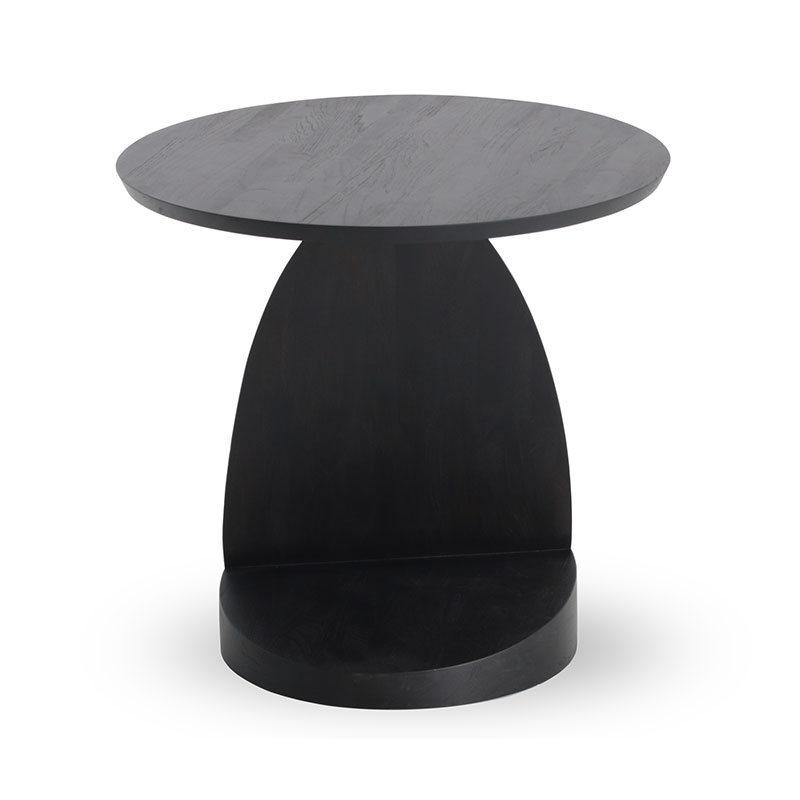 Ethnicraft Oblic Side Table by Alain Van Havre Olson and Baker - Designer & Contemporary Sofas, Furniture - Olson and Baker showcases original designs from authentic, designer brands. Buy contemporary furniture, lighting, storage, sofas & chairs at Olson + Baker.