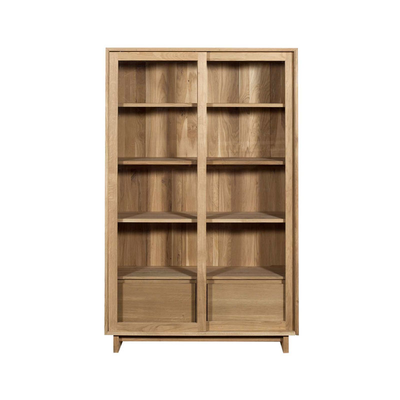 Ethnicraft Wave Storage Cupboard by Ethnicraft Design Studio Olson and Baker - Designer & Contemporary Sofas, Furniture - Olson and Baker showcases original designs from authentic, designer brands. Buy contemporary furniture, lighting, storage, sofas & chairs at Olson + Baker.