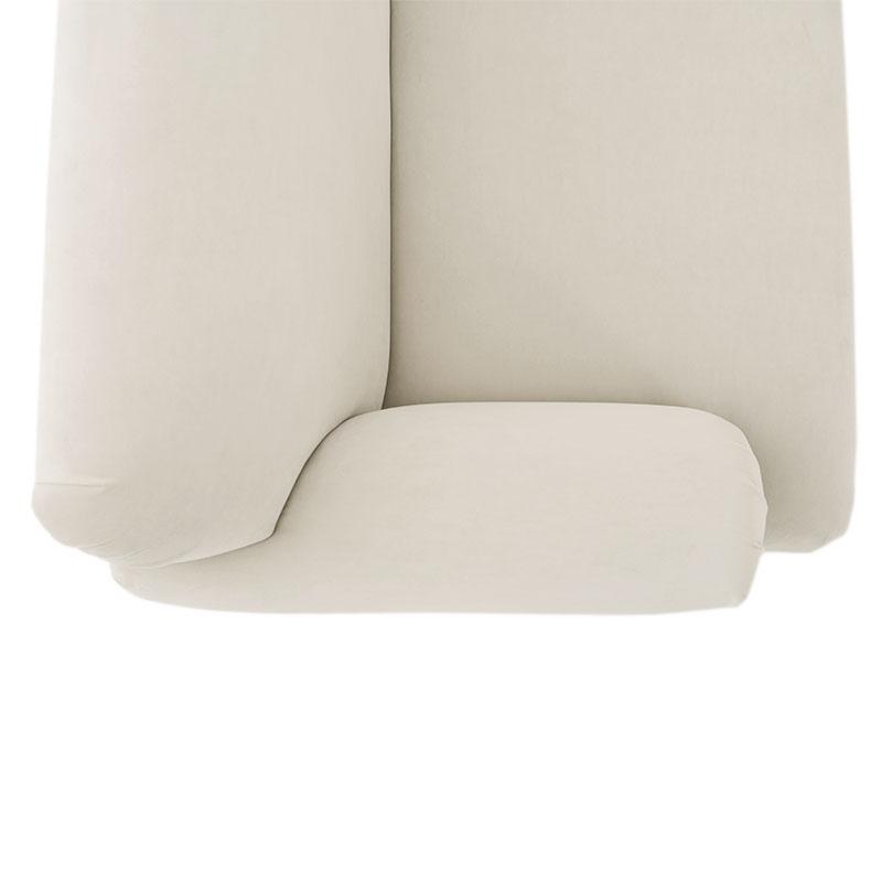Olson-and-Baker-Patterson-Detail-Warwick-Plush-Velvet-Bone-04 Olson and Baker - Designer & Contemporary Sofas, Furniture - Olson and Baker showcases original designs from authentic, designer brands. Buy contemporary furniture, lighting, storage, sofas & chairs at Olson + Baker.