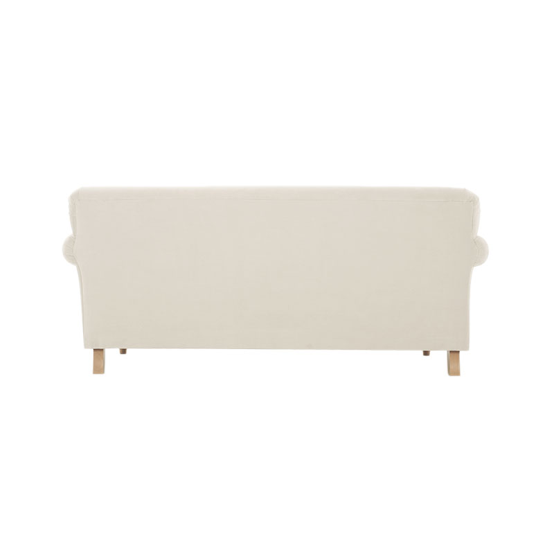 Olson-and-Baker-Patterson-Two-Seat-180cm-Warwick-Plush-Velvet-Bone-02 Olson and Baker - Designer & Contemporary Sofas, Furniture - Olson and Baker showcases original designs from authentic, designer brands. Buy contemporary furniture, lighting, storage, sofas & chairs at Olson + Baker.