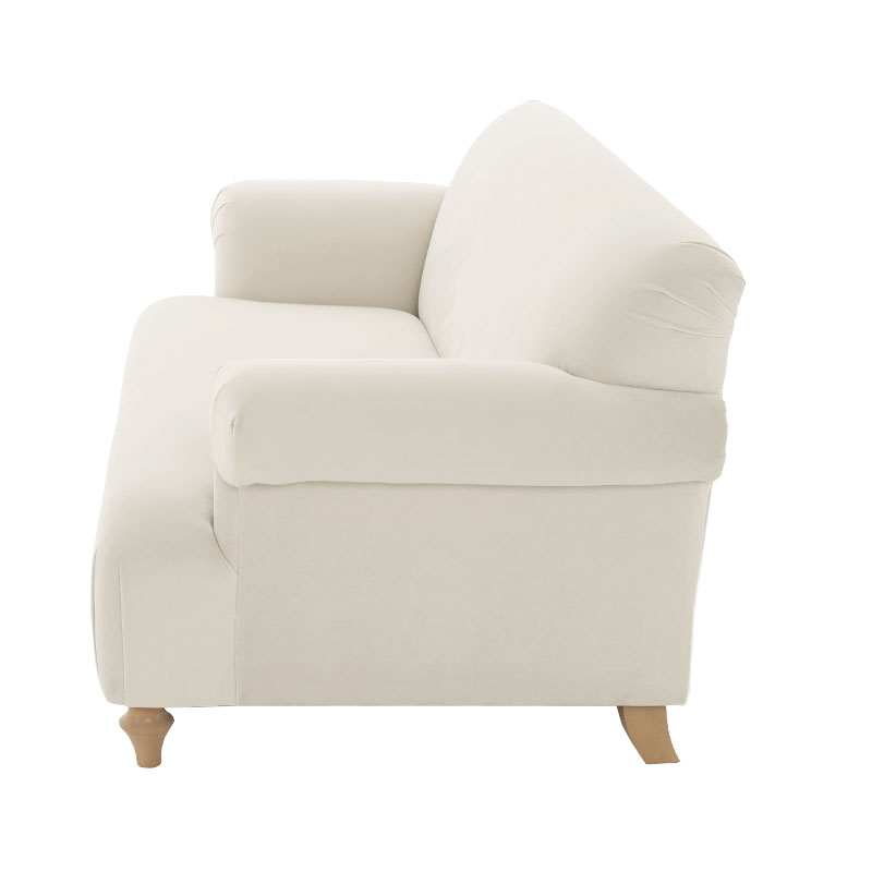 Olson-and-Baker-Patterson-Two-Seat-180cm-Warwick-Plush-Velvet-Bone-03 Olson and Baker - Designer & Contemporary Sofas, Furniture - Olson and Baker showcases original designs from authentic, designer brands. Buy contemporary furniture, lighting, storage, sofas & chairs at Olson + Baker.
