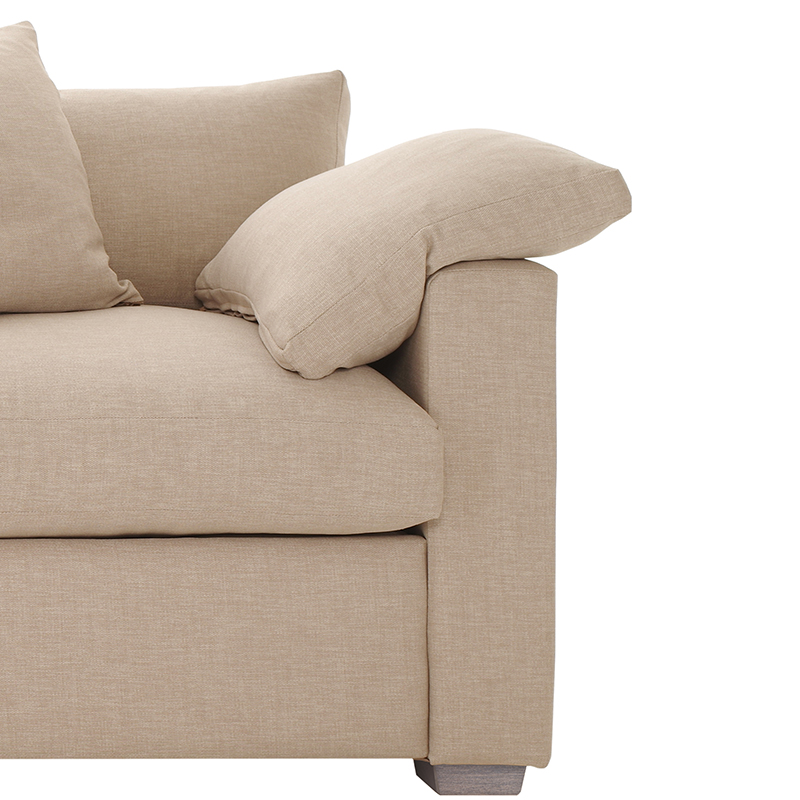 Olson-and-Baker-Crosse-Sofabed-Warwick-Keylargo-Almond-003 Olson and Baker - Designer & Contemporary Sofas, Furniture - Olson and Baker showcases original designs from authentic, designer brands. Buy contemporary furniture, lighting, storage, sofas & chairs at Olson + Baker.
