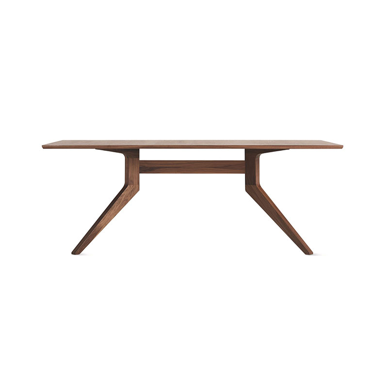 Case Furniture Cross Fixed Table by Matthew Hilton Olson and Baker - Designer & Contemporary Sofas, Furniture - Olson and Baker showcases original designs from authentic, designer brands. Buy contemporary furniture, lighting, storage, sofas & chairs at Olson + Baker.