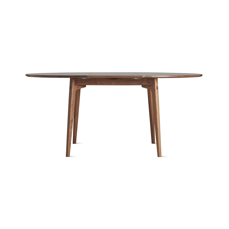 Case Furniture Dulwich Round Extending Table by Matthew Hilton Olson and Baker - Designer & Contemporary Sofas, Furniture - Olson and Baker showcases original designs from authentic, designer brands. Buy contemporary furniture, lighting, storage, sofas & chairs at Olson + Baker.