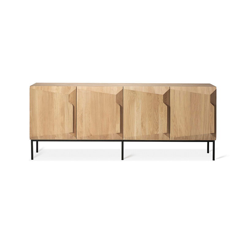 Ethnicraft Stairs Sideboard by Alain van Havre Olson and Baker - Designer & Contemporary Sofas, Furniture - Olson and Baker showcases original designs from authentic, designer brands. Buy contemporary furniture, lighting, storage, sofas & chairs at Olson + Baker.