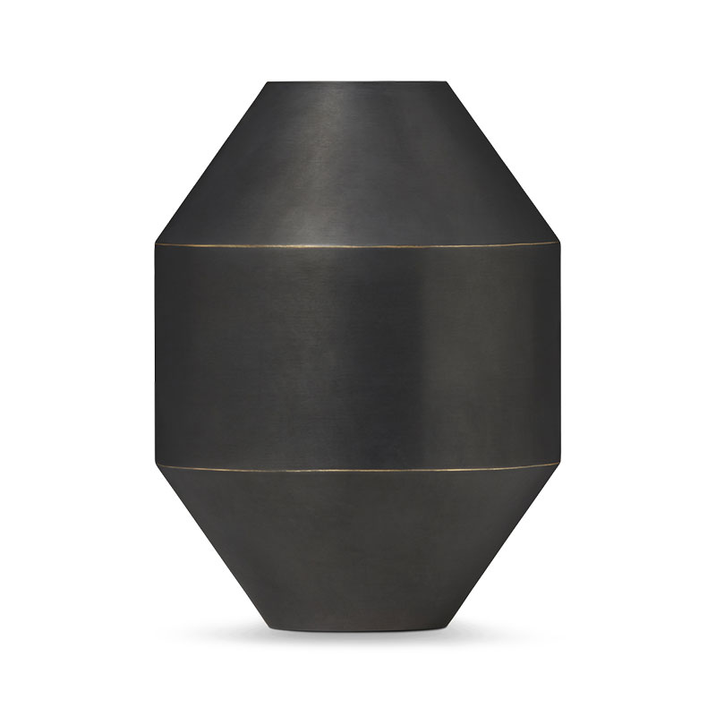 Fredericia Hydro Ø15cm Vase by Sofie Østerby Olson and Baker - Designer & Contemporary Sofas, Furniture - Olson and Baker showcases original designs from authentic, designer brands. Buy contemporary furniture, lighting, storage, sofas & chairs at Olson + Baker.