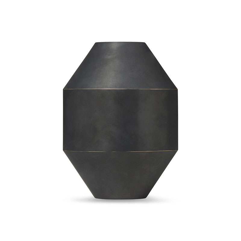 Fredericia Hydro Ø22.5cm Vase by Sofie Østerby Olson and Baker - Designer & Contemporary Sofas, Furniture - Olson and Baker showcases original designs from authentic, designer brands. Buy contemporary furniture, lighting, storage, sofas & chairs at Olson + Baker.