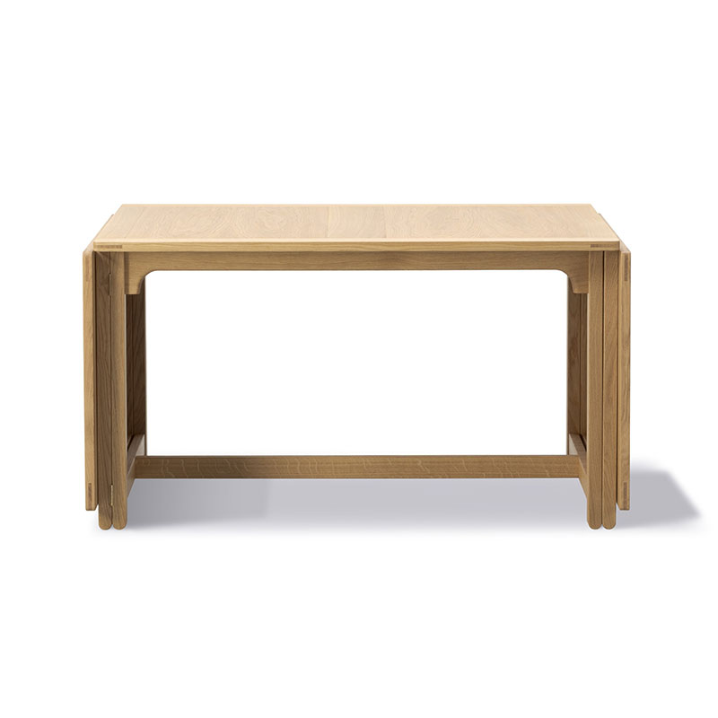 Fredericia Library Table by Børge Mogensen Olson and Baker - Designer & Contemporary Sofas, Furniture - Olson and Baker showcases original designs from authentic, designer brands. Buy contemporary furniture, lighting, storage, sofas & chairs at Olson + Baker.