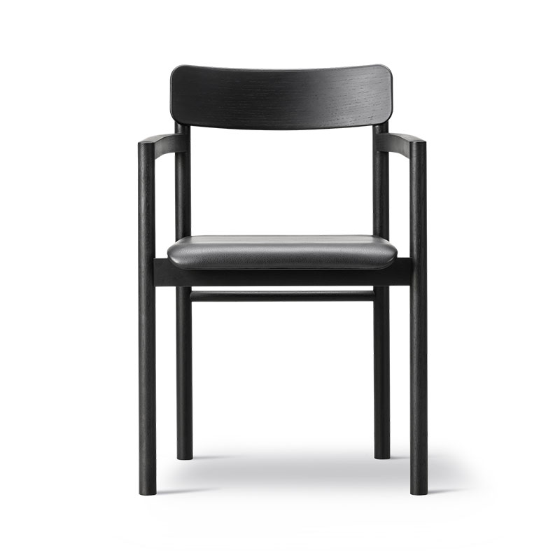 Fredericia Post Seat Upholstered Chair by Cecilie Manz Olson and Baker - Designer & Contemporary Sofas, Furniture - Olson and Baker showcases original designs from authentic, designer brands. Buy contemporary furniture, lighting, storage, sofas & chairs at Olson + Baker.