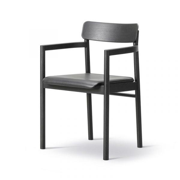 Post Seat Upholstered Chair