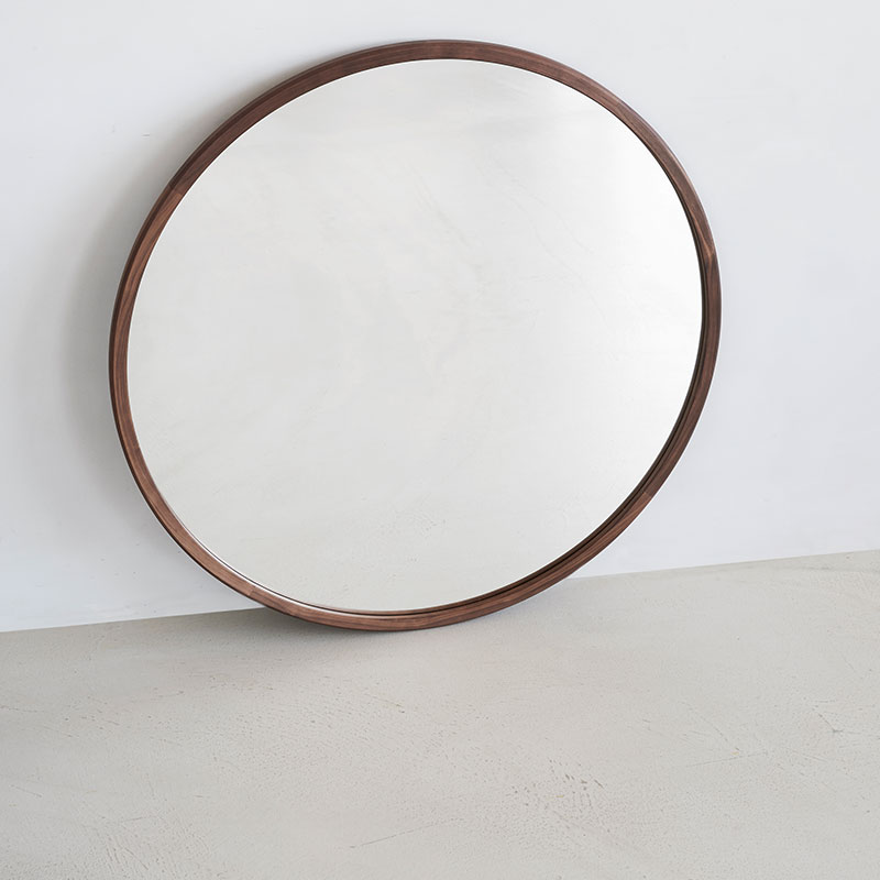 Fredericia_Silhouette_100cm_Mirror_by_OEO_3 Olson and Baker - Designer & Contemporary Sofas, Furniture - Olson and Baker showcases original designs from authentic, designer brands. Buy contemporary furniture, lighting, storage, sofas & chairs at Olson + Baker.
