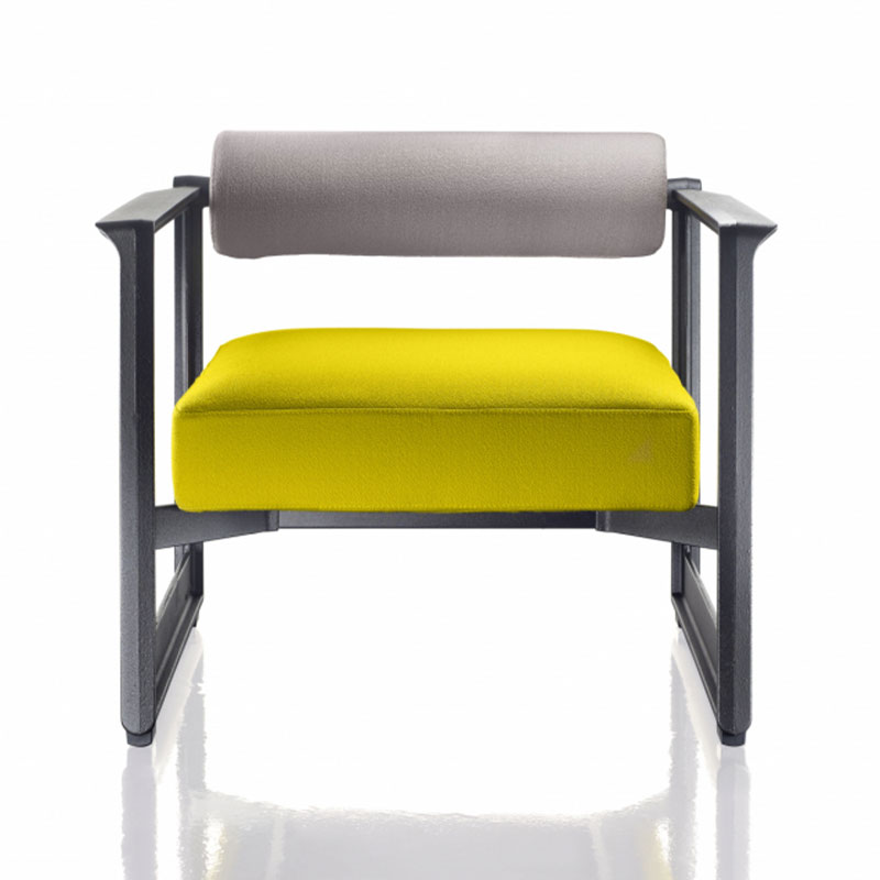 Magis Brut Armchair by Konstantin Grcic Olson and Baker - Designer & Contemporary Sofas, Furniture - Olson and Baker showcases original designs from authentic, designer brands. Buy contemporary furniture, lighting, storage, sofas & chairs at Olson + Baker.
