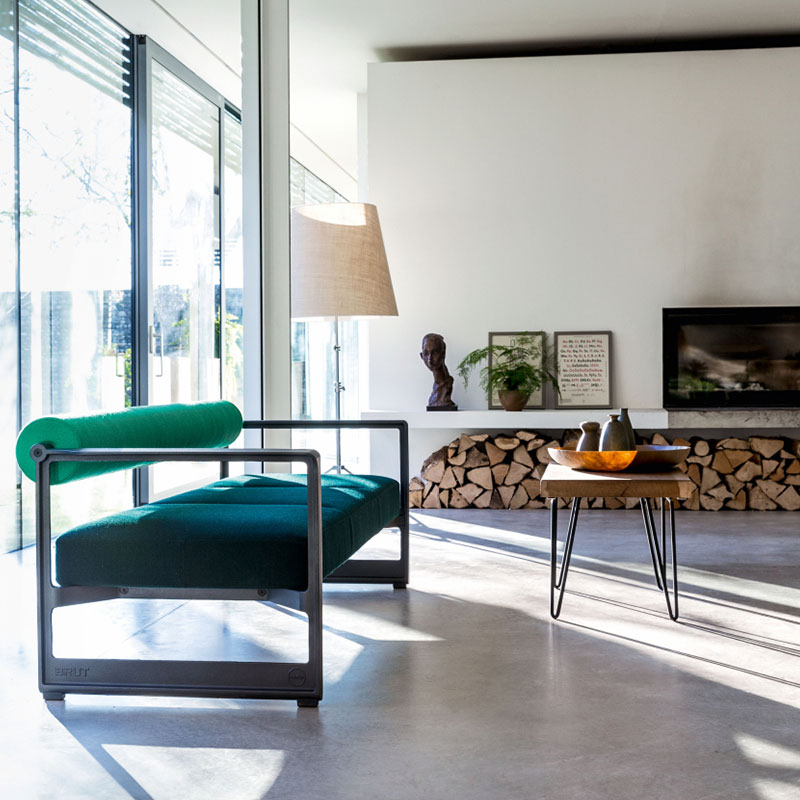 Magis_Brut_Three-Seater_Sofa_by_Konstantin_Grcic_Lifeshot Olson and Baker - Designer & Contemporary Sofas, Furniture - Olson and Baker showcases original designs from authentic, designer brands. Buy contemporary furniture, lighting, storage, sofas & chairs at Olson + Baker.