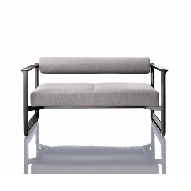 Magis Brut Two Seat Sofa by Konstantin Grcic Olson and Baker - Designer & Contemporary Sofas, Furniture - Olson and Baker showcases original designs from authentic, designer brands. Buy contemporary furniture, lighting, storage, sofas & chairs at Olson + Baker.