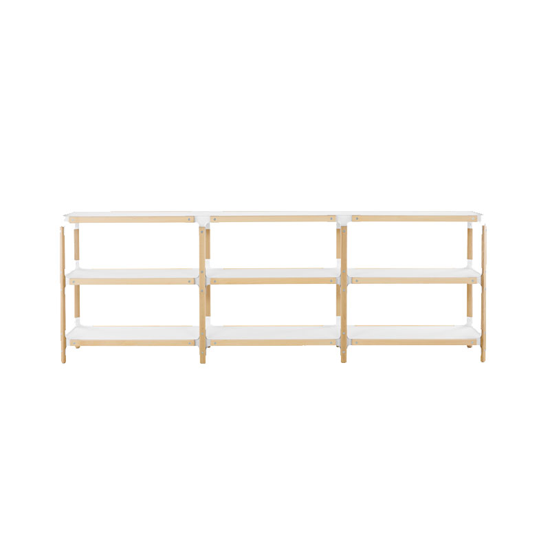 Magis Steelwood Shelving System by Ronan & Erwan Bouroullec Olson and Baker - Designer & Contemporary Sofas, Furniture - Olson and Baker showcases original designs from authentic, designer brands. Buy contemporary furniture, lighting, storage, sofas & chairs at Olson + Baker.