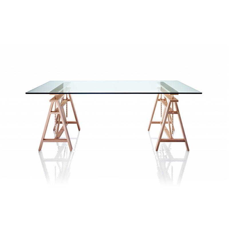 Magis Teatro Table Top 200x80cm by Marc Berthier Olson and Baker - Designer & Contemporary Sofas, Furniture - Olson and Baker showcases original designs from authentic, designer brands. Buy contemporary furniture, lighting, storage, sofas & chairs at Olson + Baker.