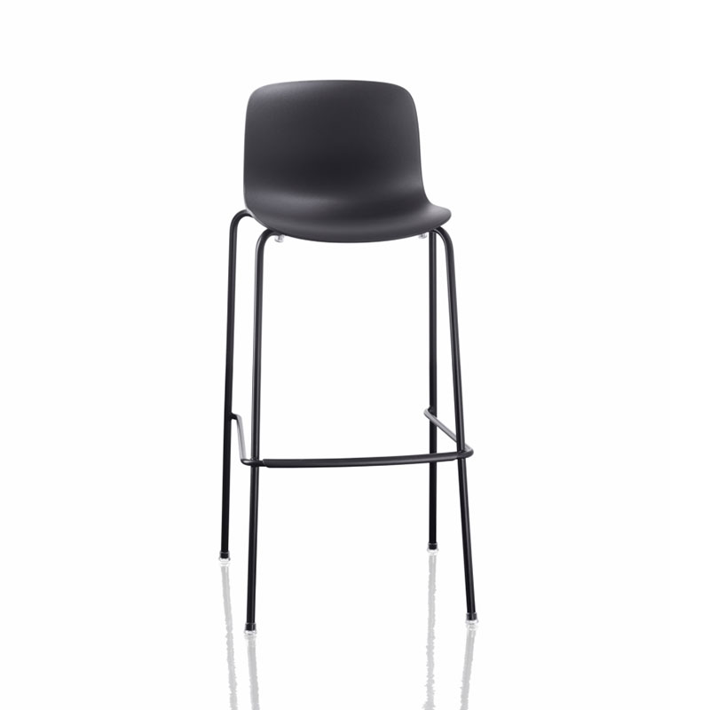 Magis Troy Sledge Stacking High Bar Stool with Seat in Polypropylene Set of Two by Marcel Wanders Olson and Baker - Designer & Contemporary Sofas, Furniture - Olson and Baker showcases original designs from authentic, designer brands. Buy contemporary furniture, lighting, storage, sofas & chairs at Olson + Baker.