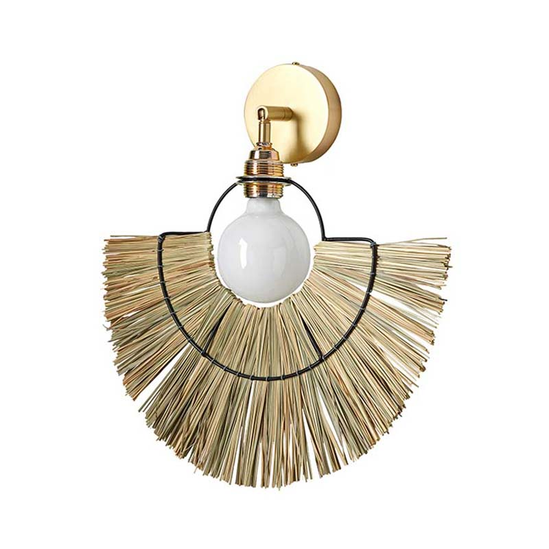 Aromas Camb Wall Lamp in Matt Brass Set of Two by Pepe Fornas Olson and Baker - Designer & Contemporary Sofas, Furniture - Olson and Baker showcases original designs from authentic, designer brands. Buy contemporary furniture, lighting, storage, sofas & chairs at Olson + Baker.