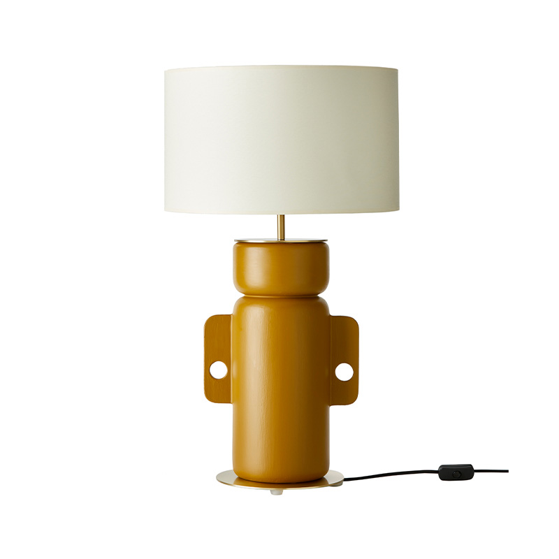 Aromas Ena Table Lamp in Honey Set of Two by AC Studio Olson and Baker - Designer & Contemporary Sofas, Furniture - Olson and Baker showcases original designs from authentic, designer brands. Buy contemporary furniture, lighting, storage, sofas & chairs at Olson + Baker.