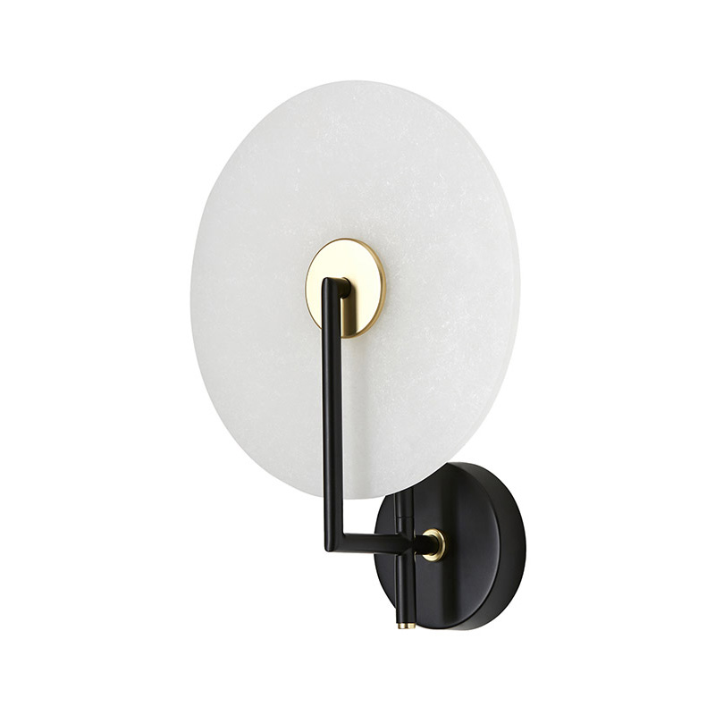 Aromas Erto Wall Lamp in Matt Black Set of Two by AC Studio Olson and Baker - Designer & Contemporary Sofas, Furniture - Olson and Baker showcases original designs from authentic, designer brands. Buy contemporary furniture, lighting, storage, sofas & chairs at Olson + Baker.