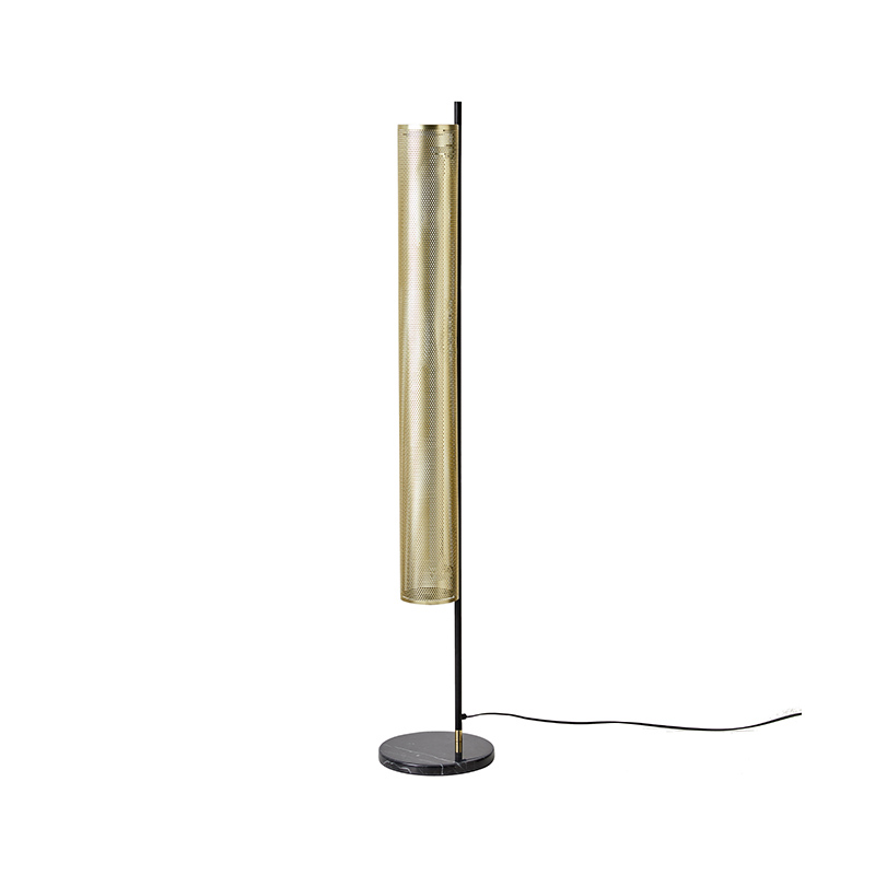 Aromas Fito Floor Lamp in Matt Brass by Pepe Fornas Olson and Baker - Designer & Contemporary Sofas, Furniture - Olson and Baker showcases original designs from authentic, designer brands. Buy contemporary furniture, lighting, storage, sofas & chairs at Olson + Baker.