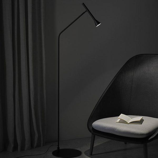 Lyb Floor Lamp in Matt Black