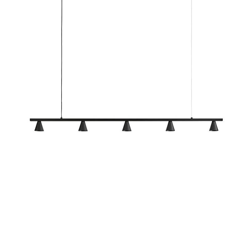 Aromas Lyb Pendant Lamp in Matt Black by Pepe Fornas Olson and Baker - Designer & Contemporary Sofas, Furniture - Olson and Baker showcases original designs from authentic, designer brands. Buy contemporary furniture, lighting, storage, sofas & chairs at Olson + Baker.