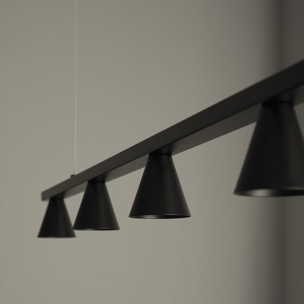 Lyb Pendant Lamp in Matt Black