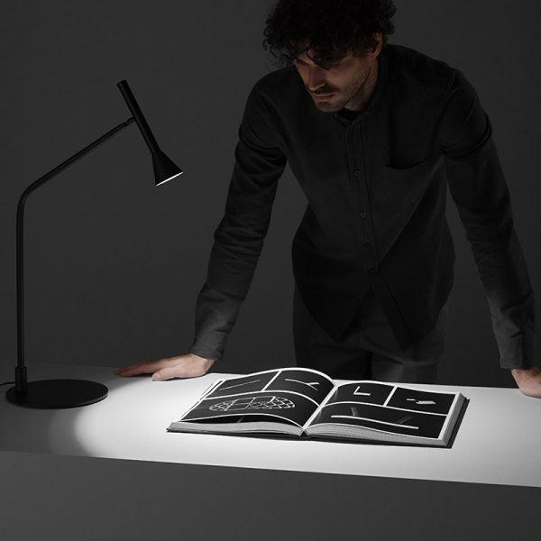 Lyb Table Lamp in Matt Black