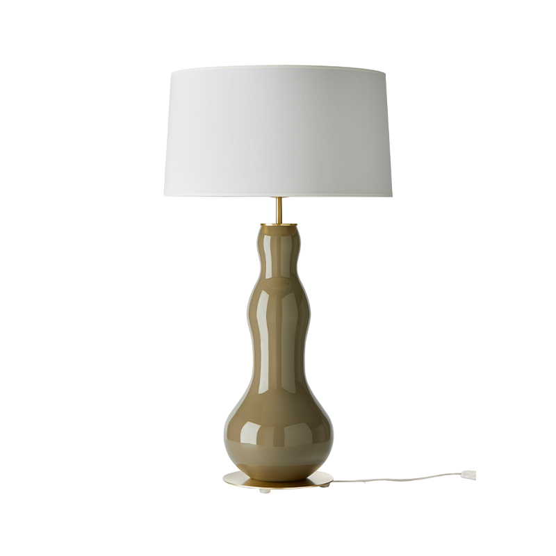 Aromas Melly Table Lamp in Chrome Set of Two by AC Studio Olson and Baker - Designer & Contemporary Sofas, Furniture - Olson and Baker showcases original designs from authentic, designer brands. Buy contemporary furniture, lighting, storage, sofas & chairs at Olson + Baker.