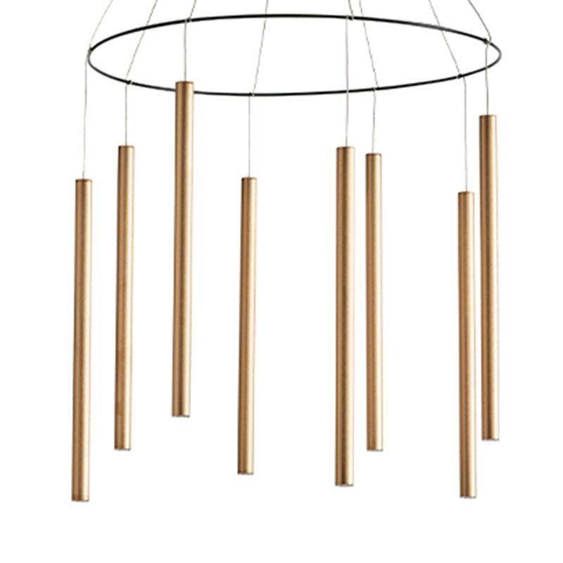 Aromas Mika Multi Pendant Lamp in Copper by AC Studio Olson and Baker - Designer & Contemporary Sofas, Furniture - Olson and Baker showcases original designs from authentic, designer brands. Buy contemporary furniture, lighting, storage, sofas & chairs at Olson + Baker.