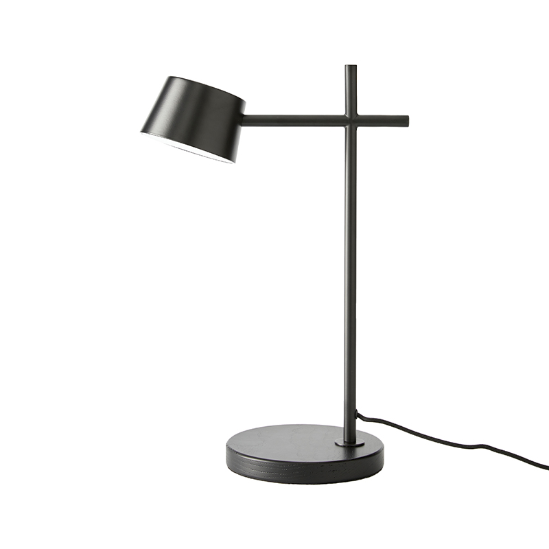 Aromas Nera Table Lamp in Matt Black Set of Two by Pepe Fornas Olson and Baker - Designer & Contemporary Sofas, Furniture - Olson and Baker showcases original designs from authentic, designer brands. Buy contemporary furniture, lighting, storage, sofas & chairs at Olson + Baker.
