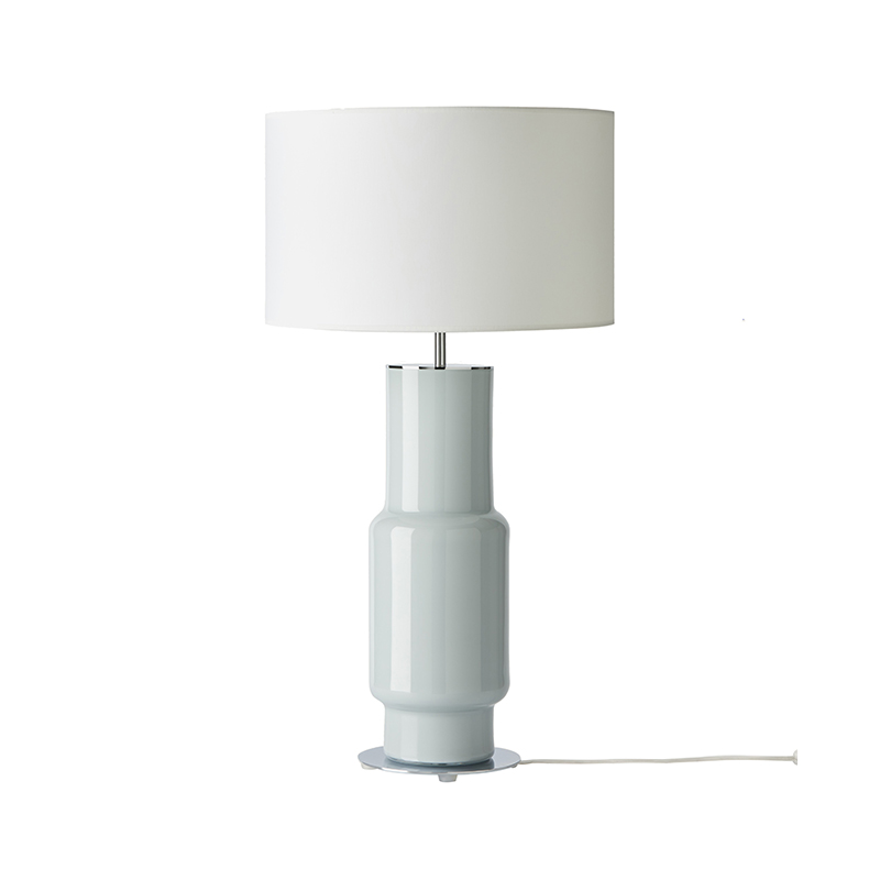 Aromas Noa Table Lamp in Chrome by AC Studio Olson and Baker - Designer & Contemporary Sofas, Furniture - Olson and Baker showcases original designs from authentic, designer brands. Buy contemporary furniture, lighting, storage, sofas & chairs at Olson + Baker.