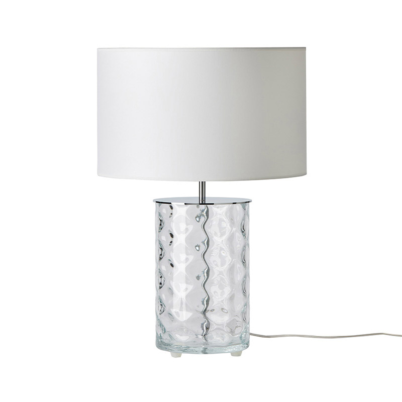 Aromas Shadow Table Lamp in Clear Glass Set of Two by AC Studio Olson and Baker - Designer & Contemporary Sofas, Furniture - Olson and Baker showcases original designs from authentic, designer brands. Buy contemporary furniture, lighting, storage, sofas & chairs at Olson + Baker.
