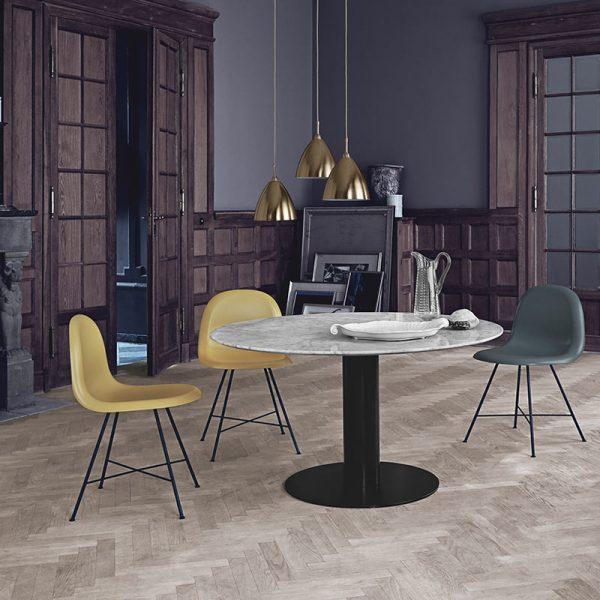 2.0 Elliptical Ø150cm Round Dining Table