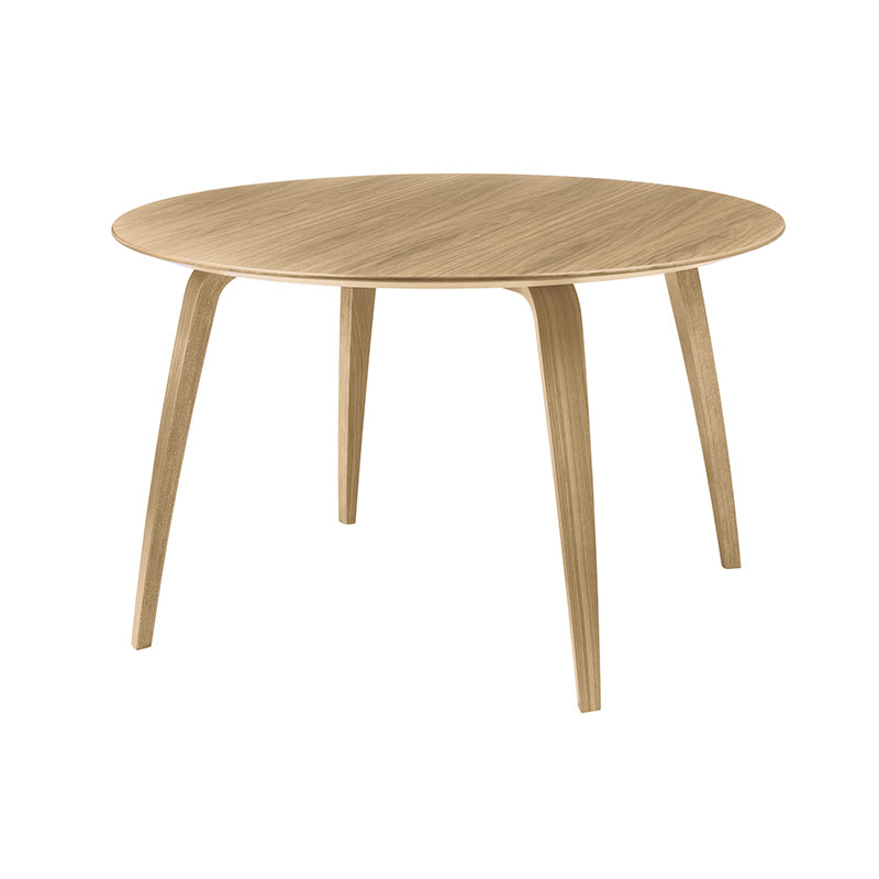 Gubi Komplot Ø120cm Round Dining Table by Komplot Design Olson and Baker - Designer & Contemporary Sofas, Furniture - Olson and Baker showcases original designs from authentic, designer brands. Buy contemporary furniture, lighting, storage, sofas & chairs at Olson + Baker.