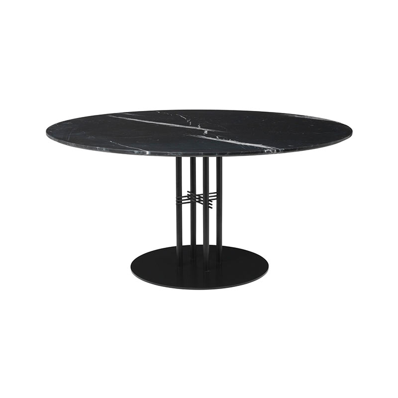 Gubi TS Column Ø150cm Dining Table by Gam Fratesi Olson and Baker - Designer & Contemporary Sofas, Furniture - Olson and Baker showcases original designs from authentic, designer brands. Buy contemporary furniture, lighting, storage, sofas & chairs at Olson + Baker.