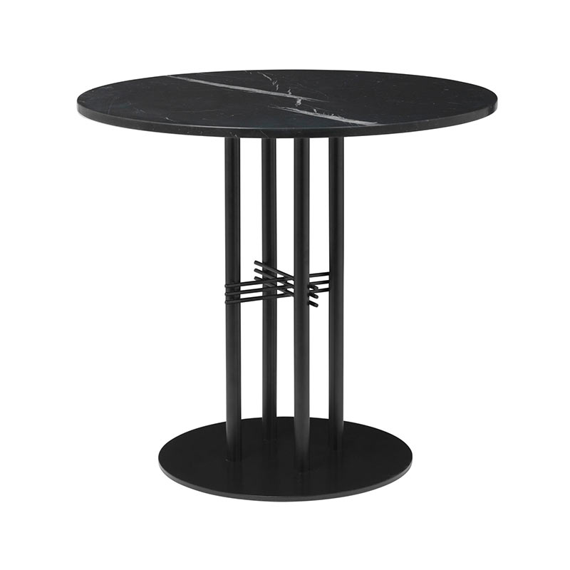 Gubi TS Column Ø80cm Round Dining Table by GamFratesi