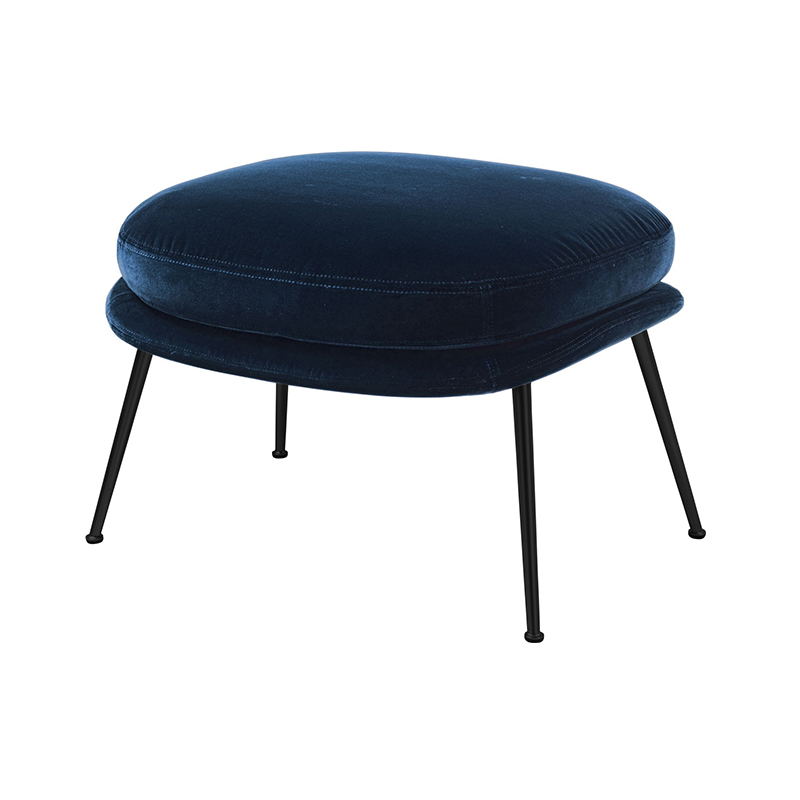 Gubi Bat Ottoman by GamFratesi Olson and Baker - Designer & Contemporary Sofas, Furniture - Olson and Baker showcases original designs from authentic, designer brands. Buy contemporary furniture, lighting, storage, sofas & chairs at Olson + Baker.