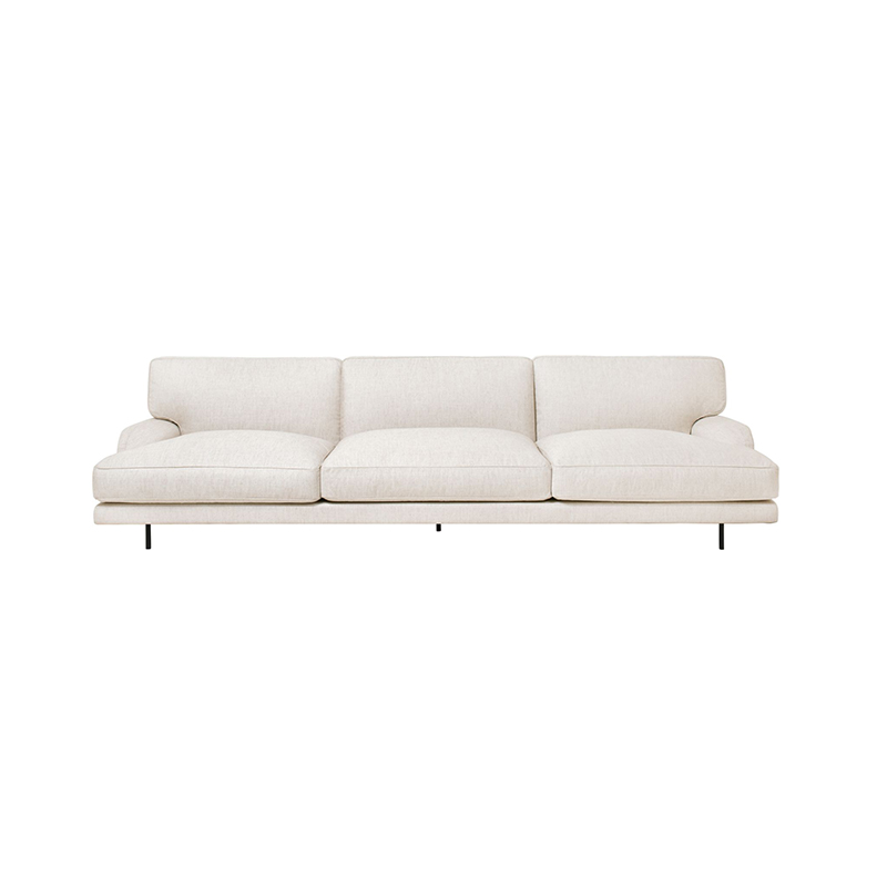 Gubi Flaneur Three Seat Sofa by GamFratesi Olson and Baker - Designer & Contemporary Sofas, Furniture - Olson and Baker showcases original designs from authentic, designer brands. Buy contemporary furniture, lighting, storage, sofas & chairs at Olson + Baker.