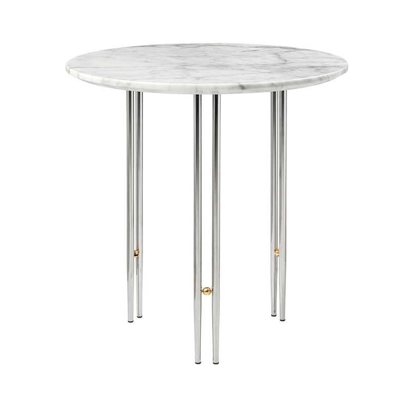 Gubi IOI Ø50cm Side Table by GamFratesi Olson and Baker - Designer & Contemporary Sofas, Furniture - Olson and Baker showcases original designs from authentic, designer brands. Buy contemporary furniture, lighting, storage, sofas & chairs at Olson + Baker.