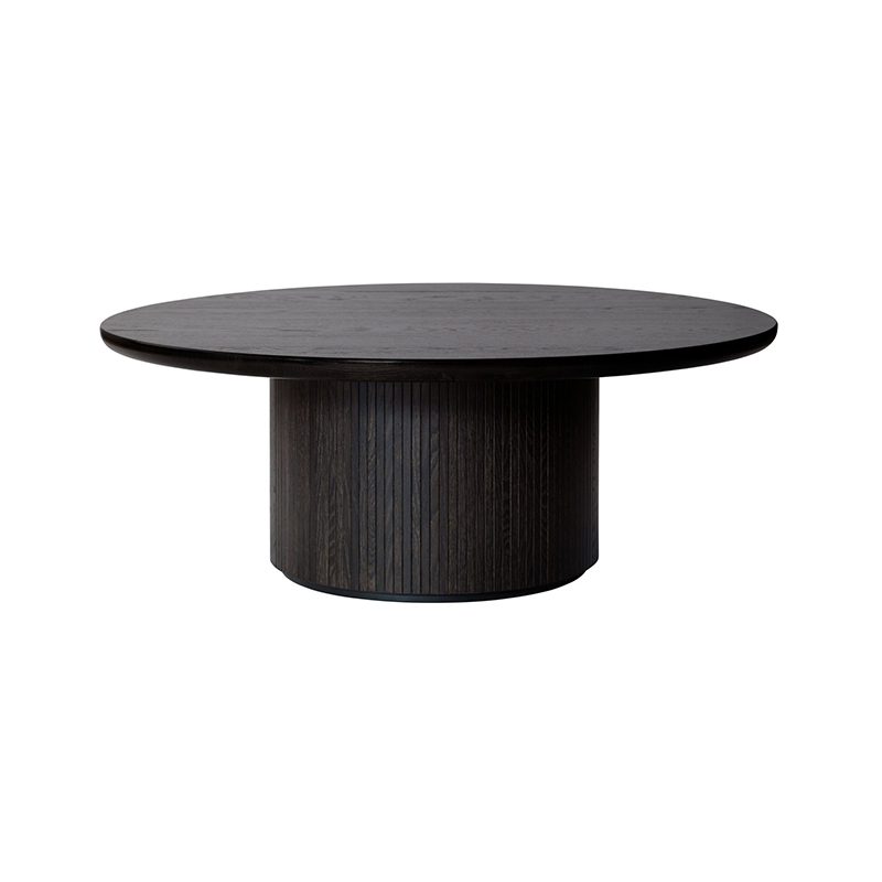 Gubi Moon Ø120cm Coffee Table by Space Copenhagen Olson and Baker - Designer & Contemporary Sofas, Furniture - Olson and Baker showcases original designs from authentic, designer brands. Buy contemporary furniture, lighting, storage, sofas & chairs at Olson + Baker.