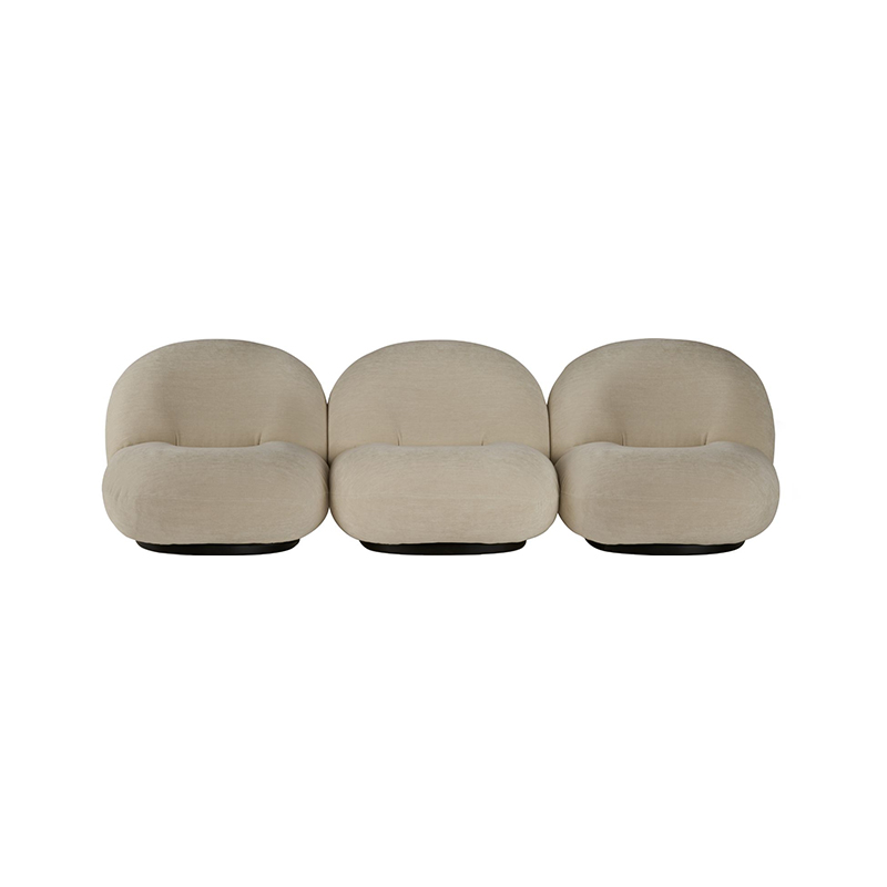 Gubi Pacha Three Seat Sofa by Pierre Paulin Olson and Baker - Designer & Contemporary Sofas, Furniture - Olson and Baker showcases original designs from authentic, designer brands. Buy contemporary furniture, lighting, storage, sofas & chairs at Olson + Baker.