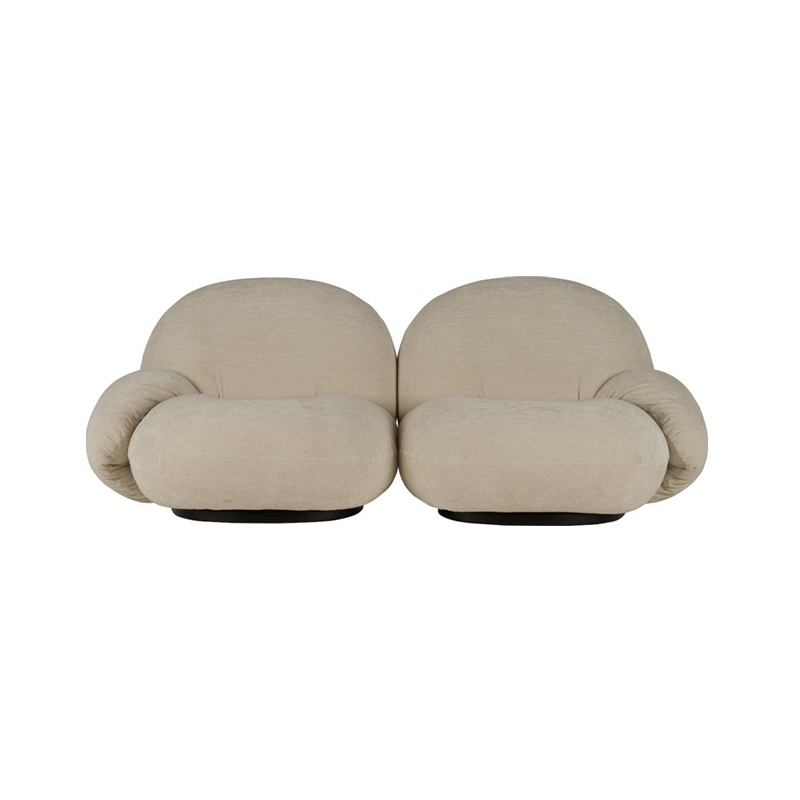 Gubi Pacha Two Seat Sofa with Armrest by Pierre Paulin Olson and Baker - Designer & Contemporary Sofas, Furniture - Olson and Baker showcases original designs from authentic, designer brands. Buy contemporary furniture, lighting, storage, sofas & chairs at Olson + Baker.