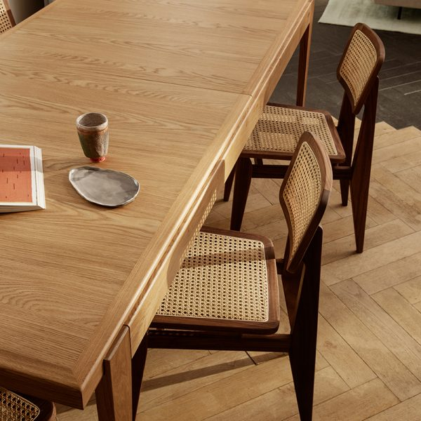 S-Table 220-320x95cm Rectangular Etendable Dining Table