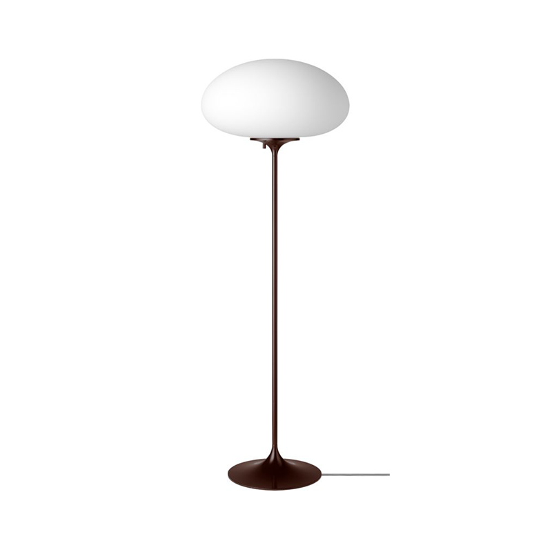 Gubi_Stemlite_Floor_Lamp_by_Bill_Curry_110cm_Black_Red_Off Olson and Baker - Designer & Contemporary Sofas, Furniture - Olson and Baker showcases original designs from authentic, designer brands. Buy contemporary furniture, lighting, storage, sofas & chairs at Olson + Baker.