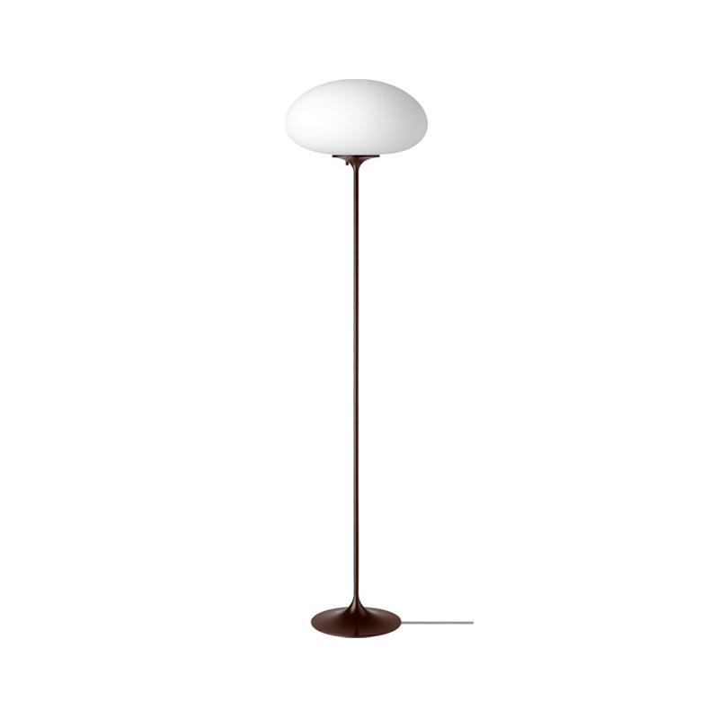 Gubi_Stemlite_Floor_Lamp_by_Bill_Curry_150cm_Black_Red_Off Olson and Baker - Designer & Contemporary Sofas, Furniture - Olson and Baker showcases original designs from authentic, designer brands. Buy contemporary furniture, lighting, storage, sofas & chairs at Olson + Baker.